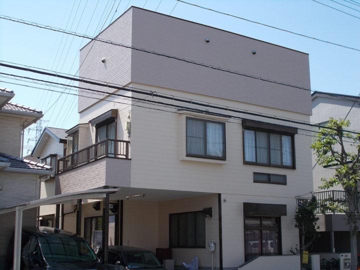 川口市北原台 外壁塗装 M様邸