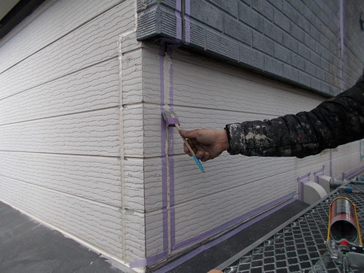 外壁 コーキング処理