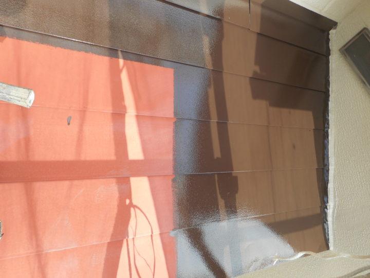 玄関ポーチ塗装