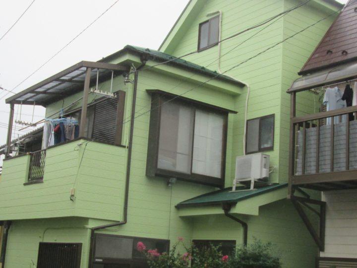 川口市東本郷 外壁塗装 T様邸