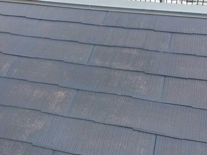 屋根塗装 勾配後