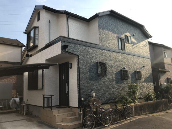 川口市西新井宿 外壁塗装 屋根塗装 k様邸