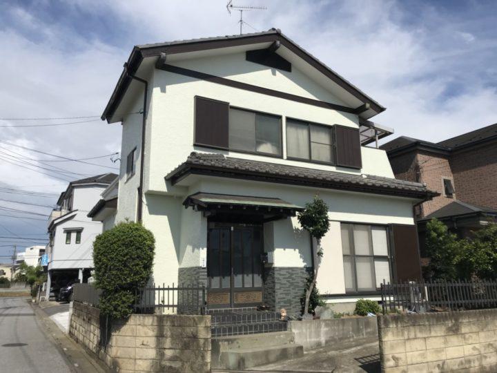 【川口市江戸】外壁塗装 k様邸