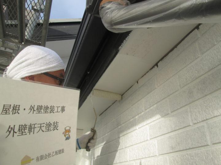 外壁軒天塗装