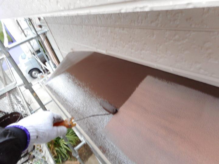 出窓天板塗装