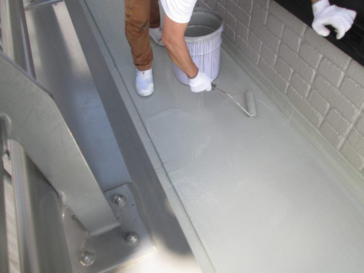 ベラン床防水 主剤2層目