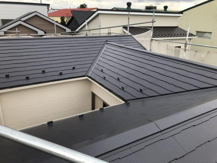 屋根完工後