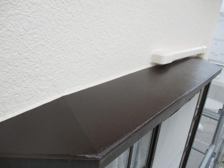 出窓天板塗装後