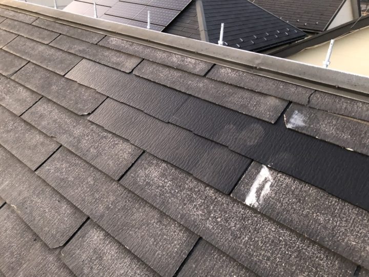 屋根差し替え