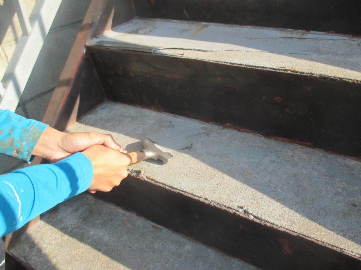 階段ケレン