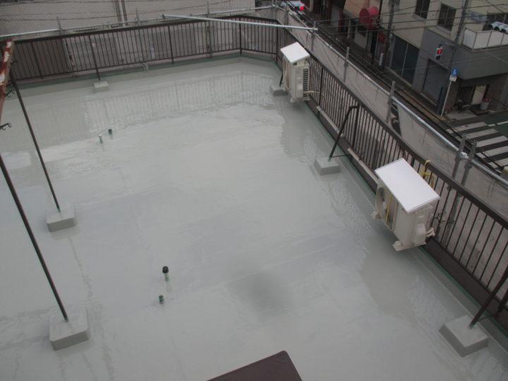 屋上床防水