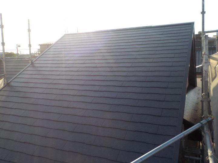 屋根完成後